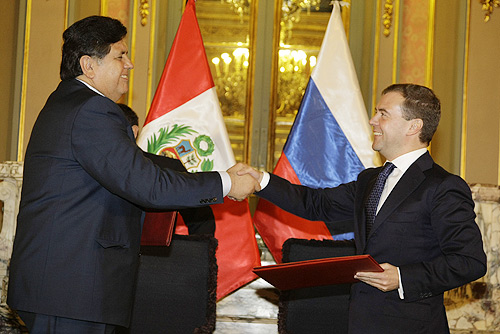 Dmitry Medvedev in Peru 24-25 November 2008-7