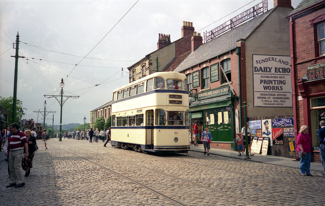 The Street, Beamish Open Air Museum - geograph.org.uk - 792369