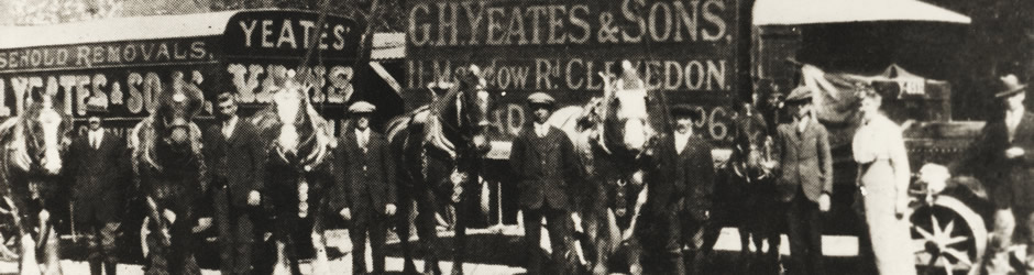 Horses and Carts used for general haulage 1910 Clevedon UK