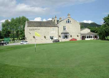 Stamford Golf Club clubhouse, Oakfield House in Stalybridge, England