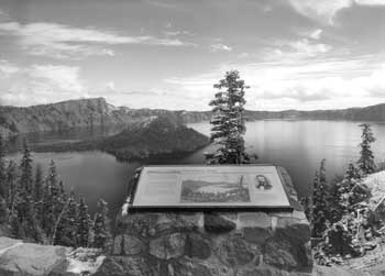 Discovery Point at Crater Lake, Oregon