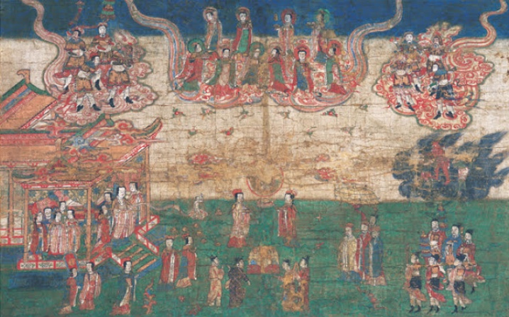 Painting of Mani's Birth