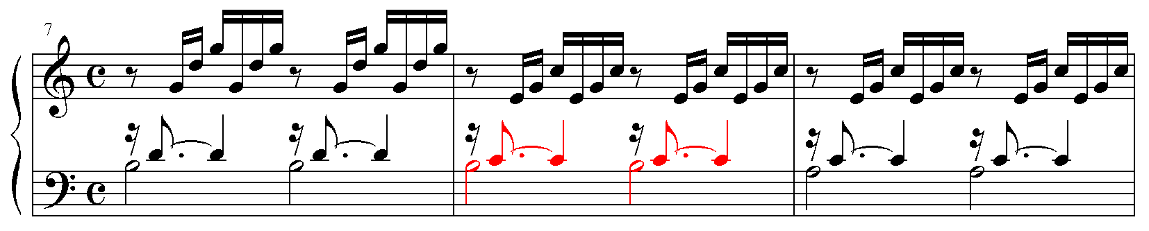 Bach minor second smaller