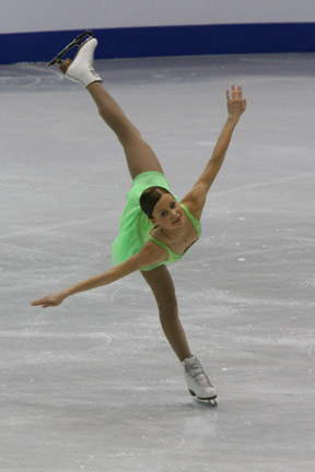 Jenni Vahamaa 2008 Junior Worlds