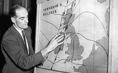 BBC - George Cowling weather forecast