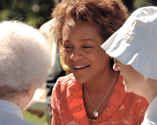 BinaryRhyme Michaëlle Jean greets Concert Attendees at Rideau Hall
