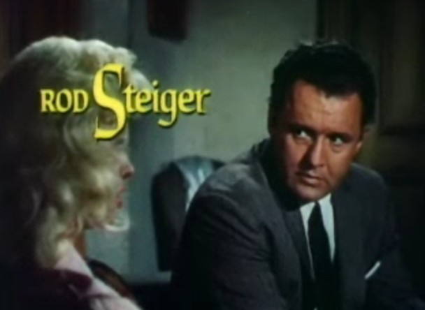 Diana Dors and Rod Steiger in The Unholy Wife trailer