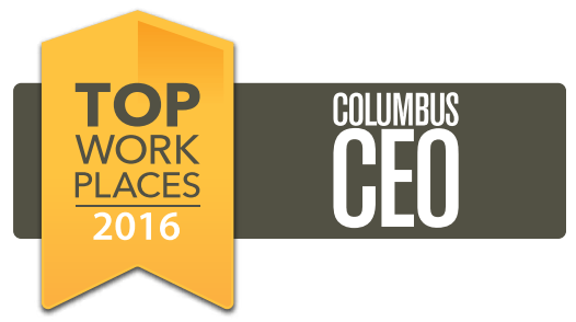 2016 Columbus CEO Top Workplaces Logo