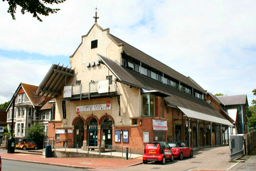 Charles Cryer Studio Theatre, Carshalton, Surrey - geograph.org.uk - 485263