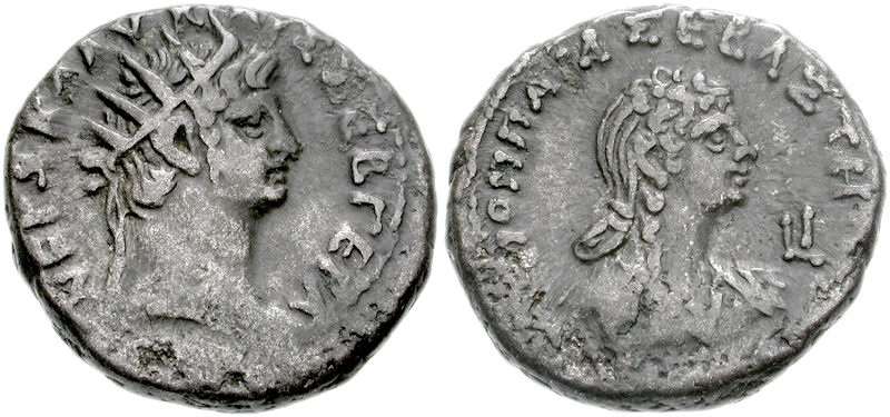 Nero and Poppaea Sabina