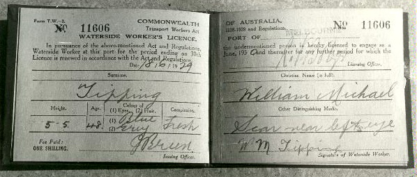 Dog Collar Waterfront Licence, 1929