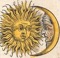 Sun and Moon Nuremberg chronicle