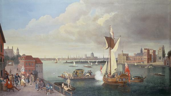 The Thames at Horseferry1710