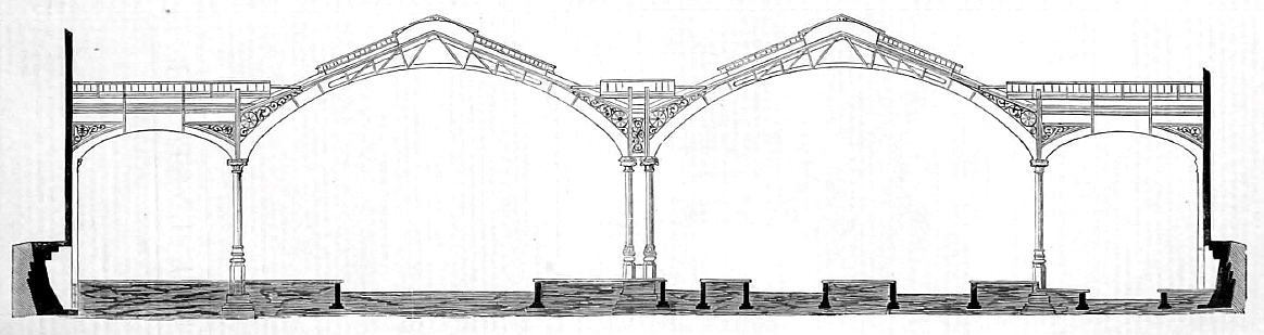 Engineer 1875-06-011 Liverpool street station, trainshed cross-section