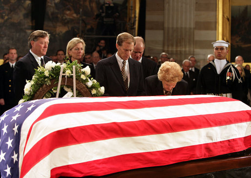 Gerald ford state funeral