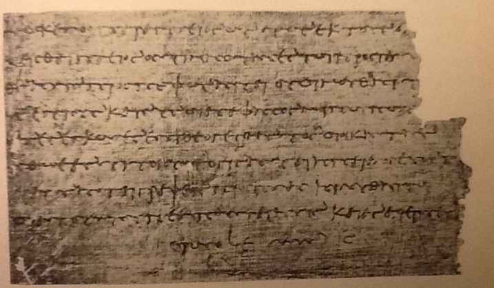 Letter on Papyrus