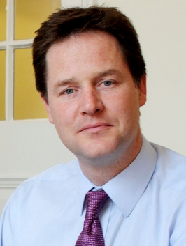 Nick Clegg by the 2009 budget cropped