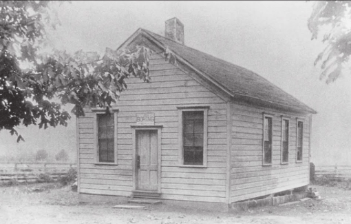 Boring, Oregon schoolhouse 1883