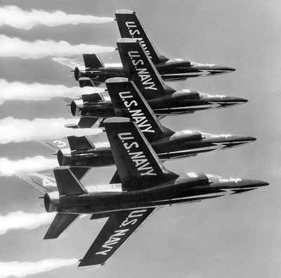 Grumman F11F-1 Tiger Blue Angels