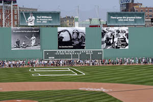 Lipofsky Ted Williams Tribute Fenway park