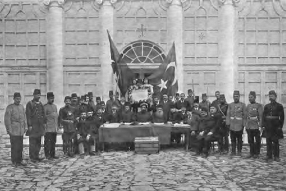 Declaration of the 1908 Revolution in Ottoman Empire