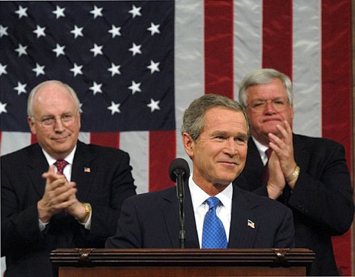 Dick Cheney at the 2003 State of the Union