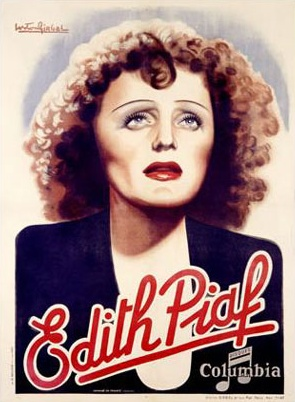 Edith piaf columbia posters