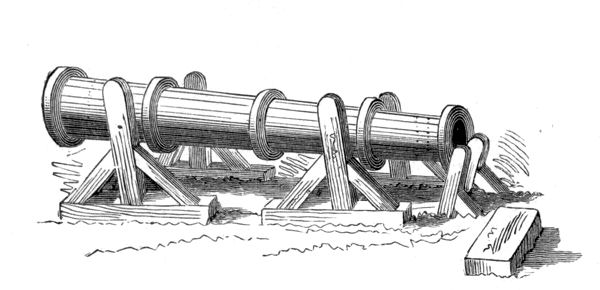 English gun used at Crecy
