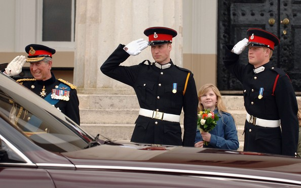 Prince Harry's Passing Out Parade