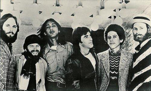 Touring Beach Boys 1972