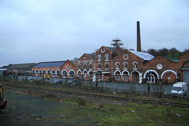 Cambrian Railway works, Oswestry - geograph.org.uk - 316616