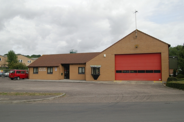 Crewkerne fire station - geograph.org.uk - 217212