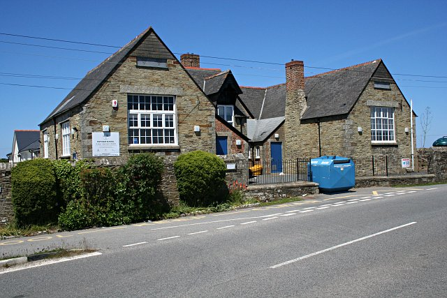 Mithian Primary School - geograph.org.uk - 181599