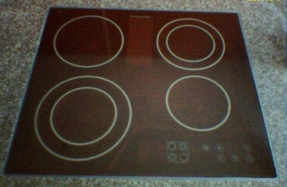 Glass ceramic cooktop