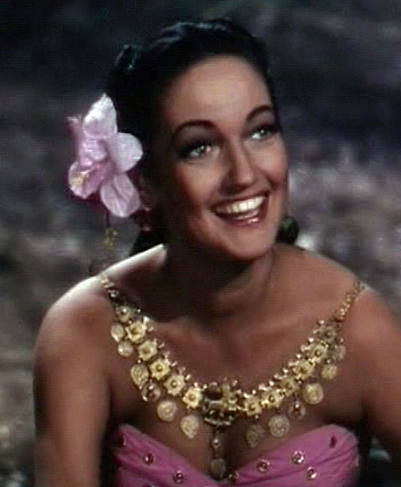 Dorothy Lamour in Road to Bali 3