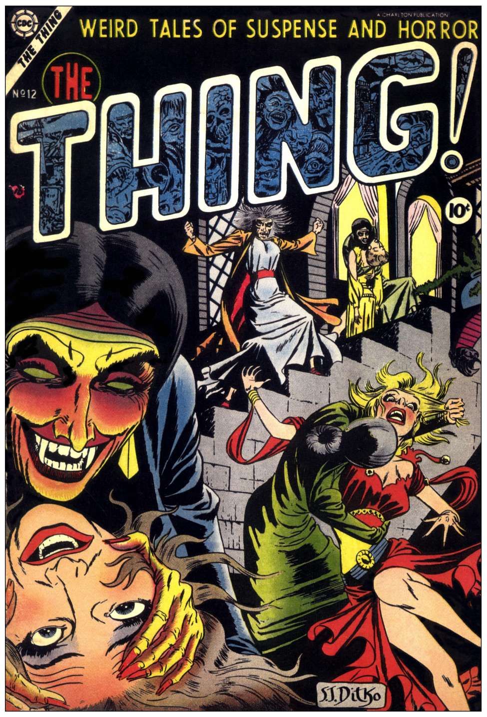 Thing,The,Ditko1stcover