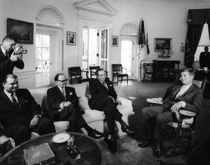 Meeting between Zulfiqar Ali Bhutto and JFK