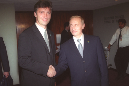 Vladimir Putin at the Millennium Summit 6-8 September 2000-28
