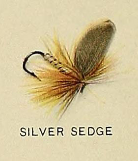 Silver Sedge, from Trout fly-fishing in America (6309074584)