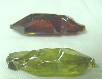 Synthetic Zincite Crystals