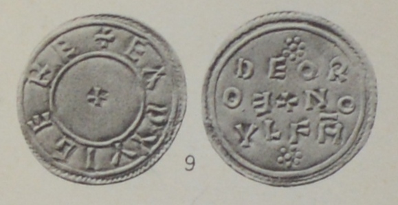 Coin of King Eadwig of England