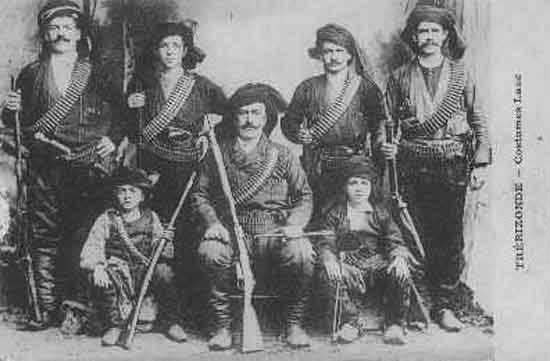Pontic Greek militia fighters