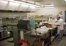 Canteen kitchen