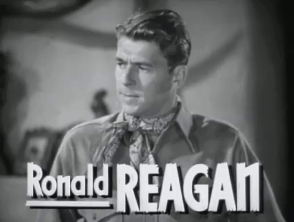 Ronald Reagan in The Bad Man (1941)