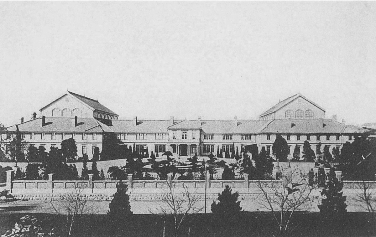 The First Japnese Diet Hall 1890-91