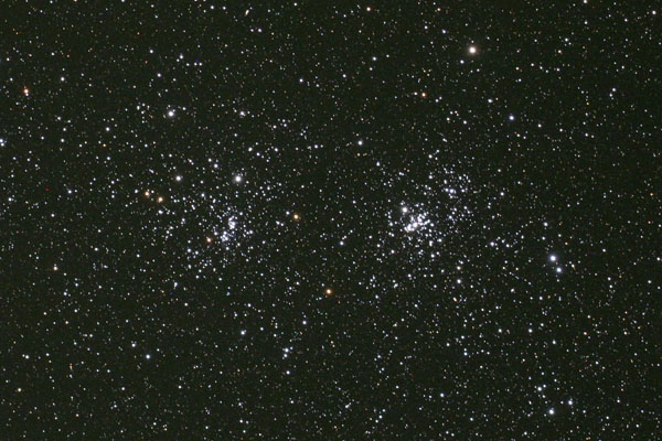 Photograph of The Double Cluster