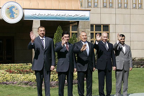 Vladimir Putin in Iran 16-17 October 2007-9