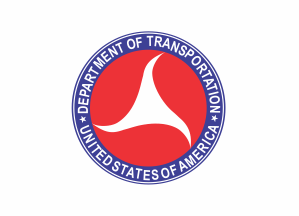 Flag of the United States Department of Transportation (1967-1980)