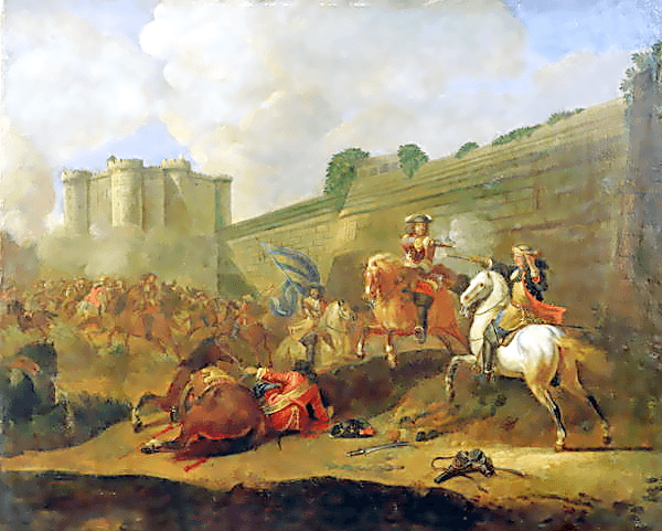 Episode of the Fronde at the Faubourg Saint-Antoine by the Walls of the Bastille