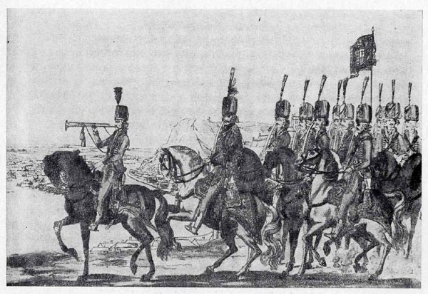 Hungarian troops in 18th century